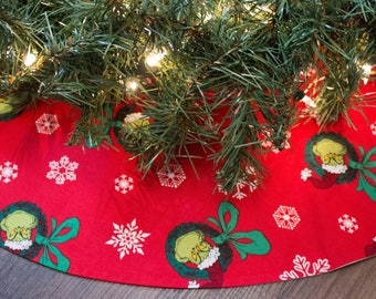 Grinch Tree Skirt