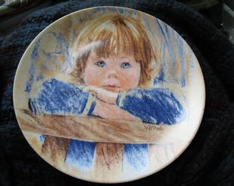 """Frances Hook Legacy Daydreaming Collectors Plate 8.5"""""""