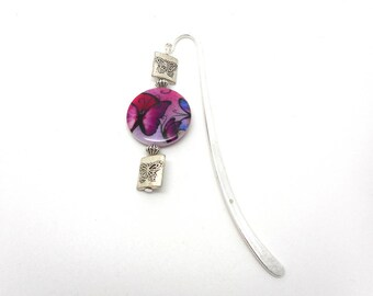 Bookmark silver Butterfly jewelry