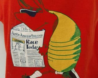 Vintage Austin American-Statesman 1988 Capital 10'000 race t-shirt