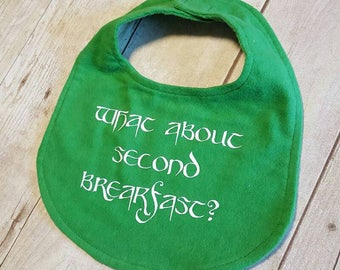 What about second breakfast Lord of the Rings Bib