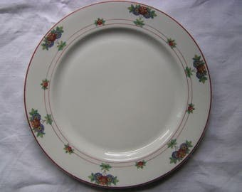 "Syracuse China O.P.CO ""Canterbury"" Dinner Plate"