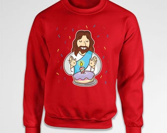 Christmas Sweater Xmas Pullover Holiday Outfits Jesus Clothing Xmas Outfit Christmas Hoodie Holiday Clothes Winter Sweatshirt X-Mas TEP-537