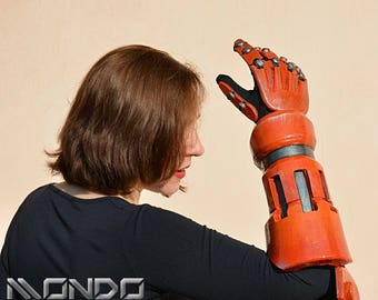 MADE TO ORDER* Overwatch Junkrat arm for cosplay larp Fawkers props replica Junkers MObA omnium robot mecha Frag Launcher Concussion costume