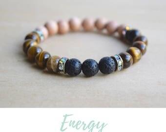 Tigers Eye Bracelet / gift for goddaughter, balance bracelet, energy bracelet, gifts from godmother, goddaughter gifts, tiger eye bracelet