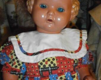 "Old celluloid doll Schildkroet "" Baerbel "", Celluloid doll, Schildkrot,Turtle marked doll,Germany,antique Doll"