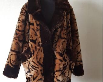 Sheepskin coat size S/M/L