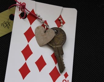 Key Necklace (and bullet)