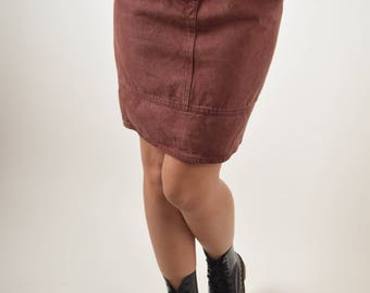 Vintage Moschino Denim Skirt Made in Italy (2844)
