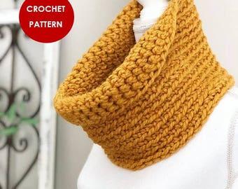 Crochet Pattern | SIMON COWL | Beginner Level