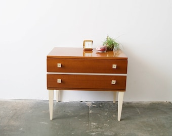 Bedside table 60, small chest of drawers, mcm sideboard, Cabinet with drawers