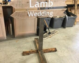 Custom Wedding Sign-Pallet Wood Sign