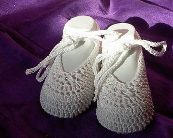 Crochet Baby Princess Slipper PATTERN