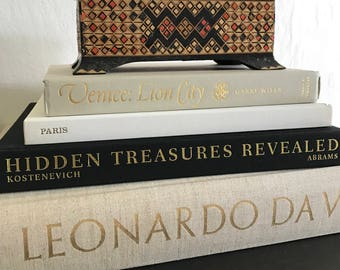Decorative  Box / features vintage / handmade / Asian / mid century / bookcase home decor