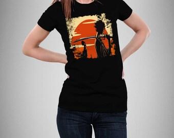 Samurai Champloo T-shirt, Anime, Mugen, Fuu, Jin, Samurai, Champloo, Akira, Samurai Champloo