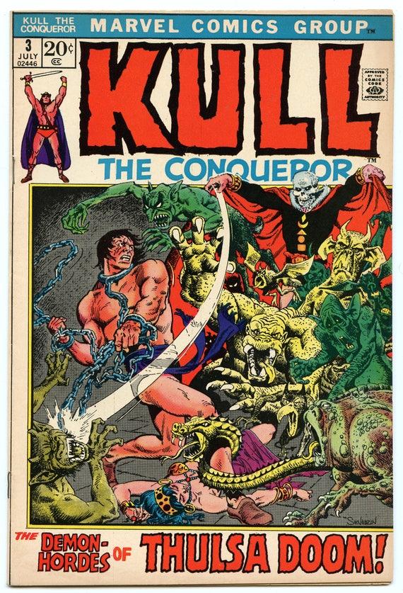 Kull the Conqueror 3 Jul 1972 VF+ (8.5)