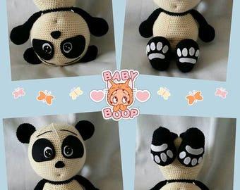 Panda made his antics, Julio Toys pattern