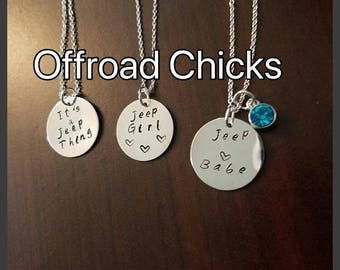 Offroad Chicks Necklace SHIPPED