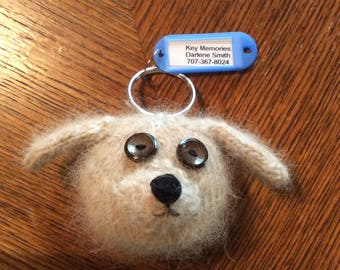Keychains made from your pets hair