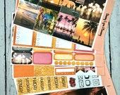 Summer Nights Weekly Kit/A La Carte - EC Vertical/EC Horizontal/Happy Planner