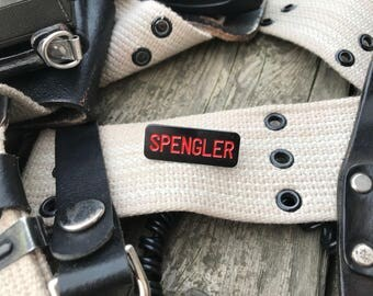 Egon Spengler - Ghostbusters 2 Name Tape Enamel Pin