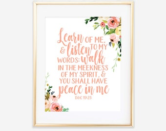 LDS Mutual Theme 2018, Young Women Theme 2018, Printable Art