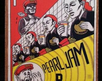 Pearl Jam Band Magnet