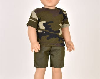 18 inch Boy Doll Clothes Top