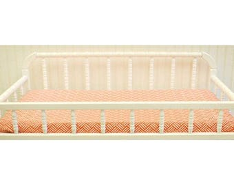 Changing Pad Cover | Spot On Tangerine