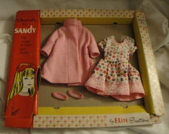 Vintage Elite Creations Sandy Skipper Clone Original Outfits with Box