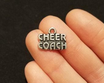 Cheer Coach charm