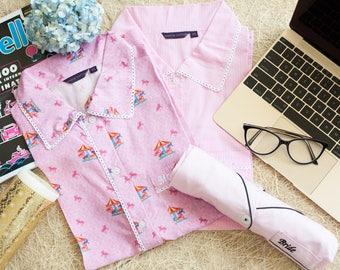 Bridesmaids Pink Monogrammed Shorts Set /bridesmaid pajamas