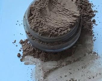 Tan, Mineral Foundation, All Natural, Vegan, Handmade