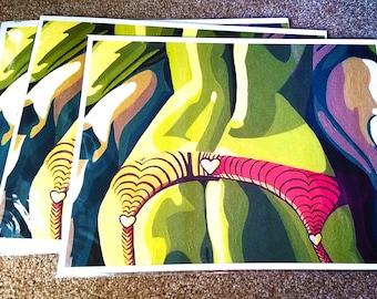 """Lindsey"" Art Print [open edition, 11x14""]"