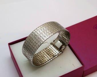 Bracelet mesh silver 800 vintage elegant snake bracelet SA325