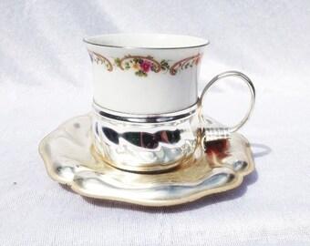 Schwarzenhammer Porzellan Porcelain Cup And Saucer Vintage Schwarzenhammer China High Tea Set Tea Party Cups
