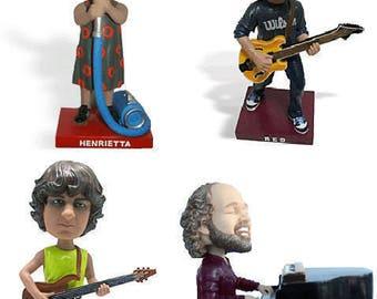 Phish bobbleheads Full Set of all 4 band members