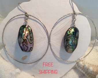 ABALONE & STERLING SILVER