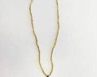 Handmade Artisan Gold Necklace