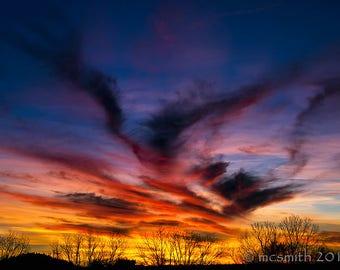 Flying V Sunset