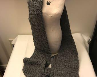 100% Baby Alpaca Knit Scarf