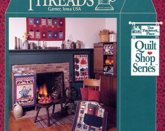COUNTRY THREADS Garner Iowa USA by Mary Tendall and Connie Tesene