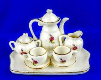 Miniature Lefton Tea Set