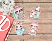 Die Cut Stickers: Sandy the Sloth