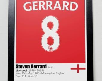 Liverpool Football Legends Poster Del Piero