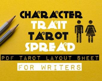Character Trait Tarot Spread