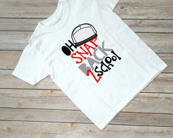 Oh Snap Back to School Shirt