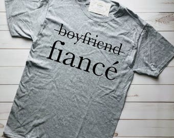 MARRIED AF, FIANCE Shirt, Engaged Af, Fiance, Engaged Shirt, Fiance Gift for Him, Boyfriend Fiance, Girlfriend Fiance, Engagement, Engaged