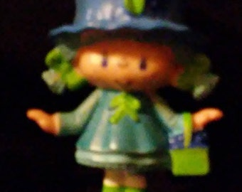 Vintage 1980s Strawberry SHORTCAKE Bluberry Muffin Mini PVC Figures!!
