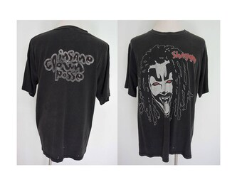 Vintage 90's distressed Shaggy Insane Clown Posse  beat up faded tee size XL